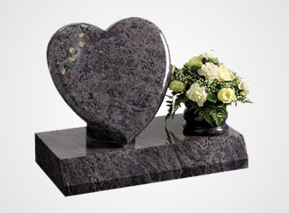 Heart Shaped Headstones